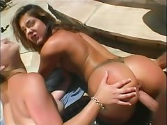 Alex Devine makes a real sport out of a good fuck and she loves 3somes