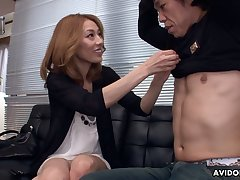 Asian vixen Sally Yoshino wants some dick and she always gets what she wants